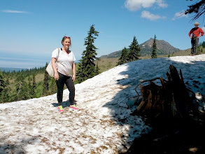 Photo: Alison and Randy at Hurricane Ridge
