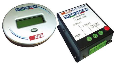 NDS Battery Manager SMS, trådlös