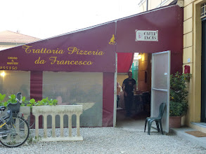 Photo: Lucca hotel manager recommended this restaurant, about 10 min. walk.