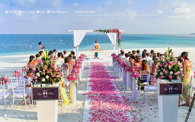 Wedding Wallpaper Hd New Tab Theme C - Wedding Wallpaper, Discount Photo Studio Wedding Background Wallpaper 2021 On Sale At Dhgate Com