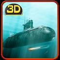 Russian Submarine: Navy War 3D icon