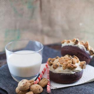 Santa's Milk & Cookies | Baked Cookies & Cream Donut