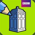 BBC Colouring: Doctor Who icon