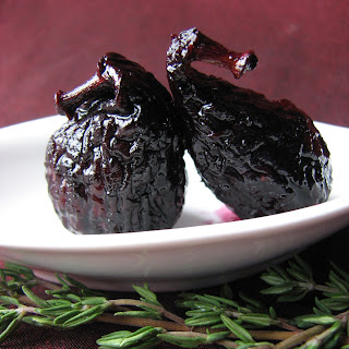 Figs in Red Wine