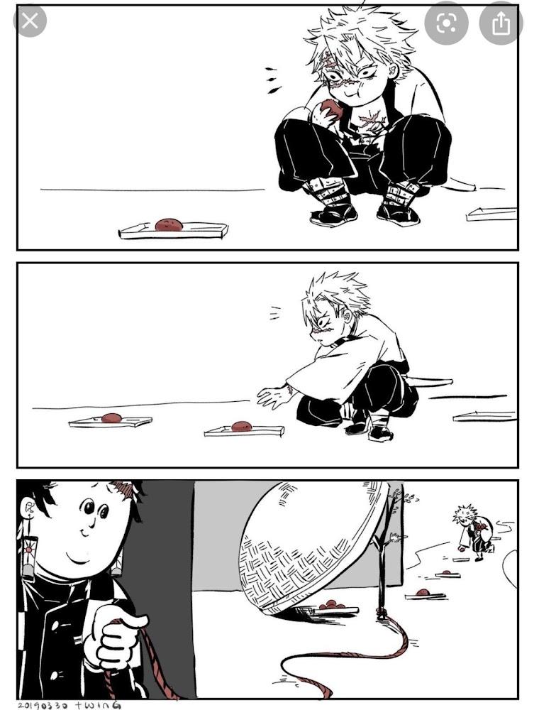 カナヲ と 炭 治郎