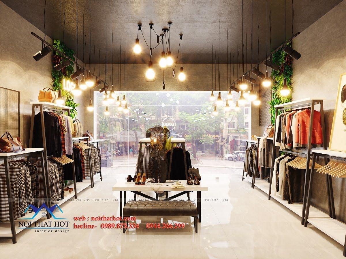 thiết kế shop thời trang nữ 5
