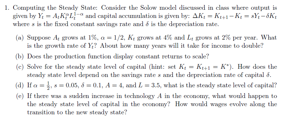 romer and solow model comparison The augmented solow model and the productivity slowdown mankiw, romer, and weil's augmented solow model r summers, a hestona new set of international comparisons of real product and price levels estimates for 130 countries 1950-85.