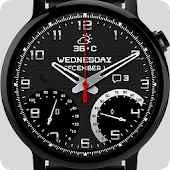 Metal Elegant Watch Face