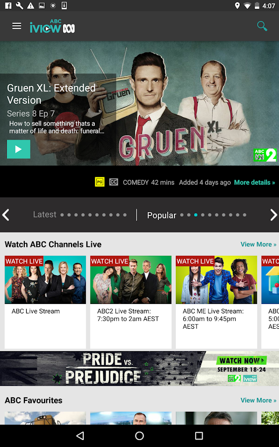 ABC iview- screenshot