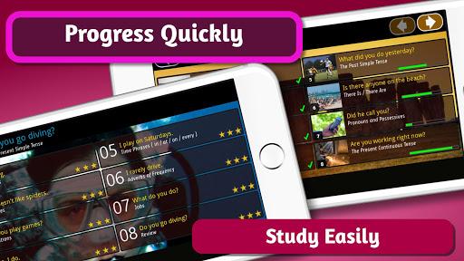 Speedy English Grammar -Basic ESL Course & Lessons 1.6.1 screenshots 4