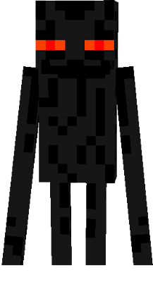 Enderman Orange Eyes