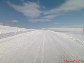 Photo: Наверху совсем зима