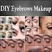 DIY Eyebrows Makeup Icon