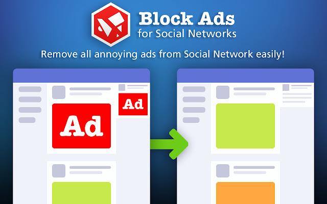 Block Ads for Social Network