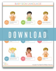 free baby sign chart
