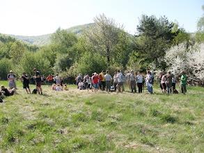 Photo: lúka medzi hradom a Dubovou horou