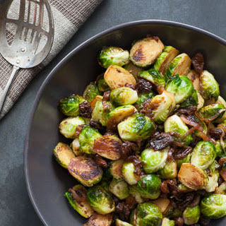 Sweet-and-Sour Brussels Sprouts.