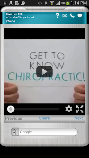 Affordable Chiropractor App