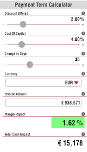 Early Payment Term Calculator- screenshot thumbnail