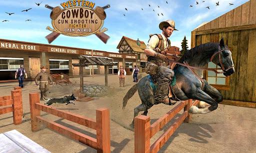 Western Cowboy Gun Shooting Fighter Open World Apk 1