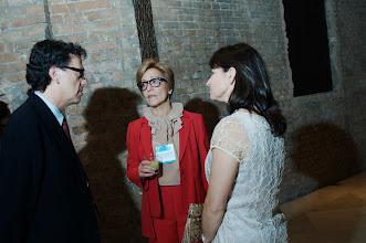Photo: Marcelo Araujo, Anna Cynthia (GIFE) e Beatriz Yohannpeter. (Crédito: Romeo Campos)