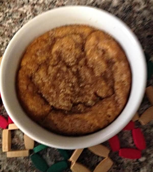 Pumpkin Cake For One Recipe