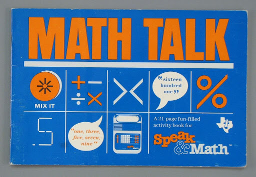 Instruction book:Math Talk: Speak & Math