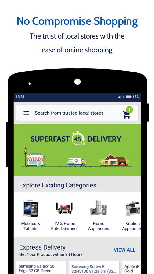 Zopper - Local Shopping Online- screenshot