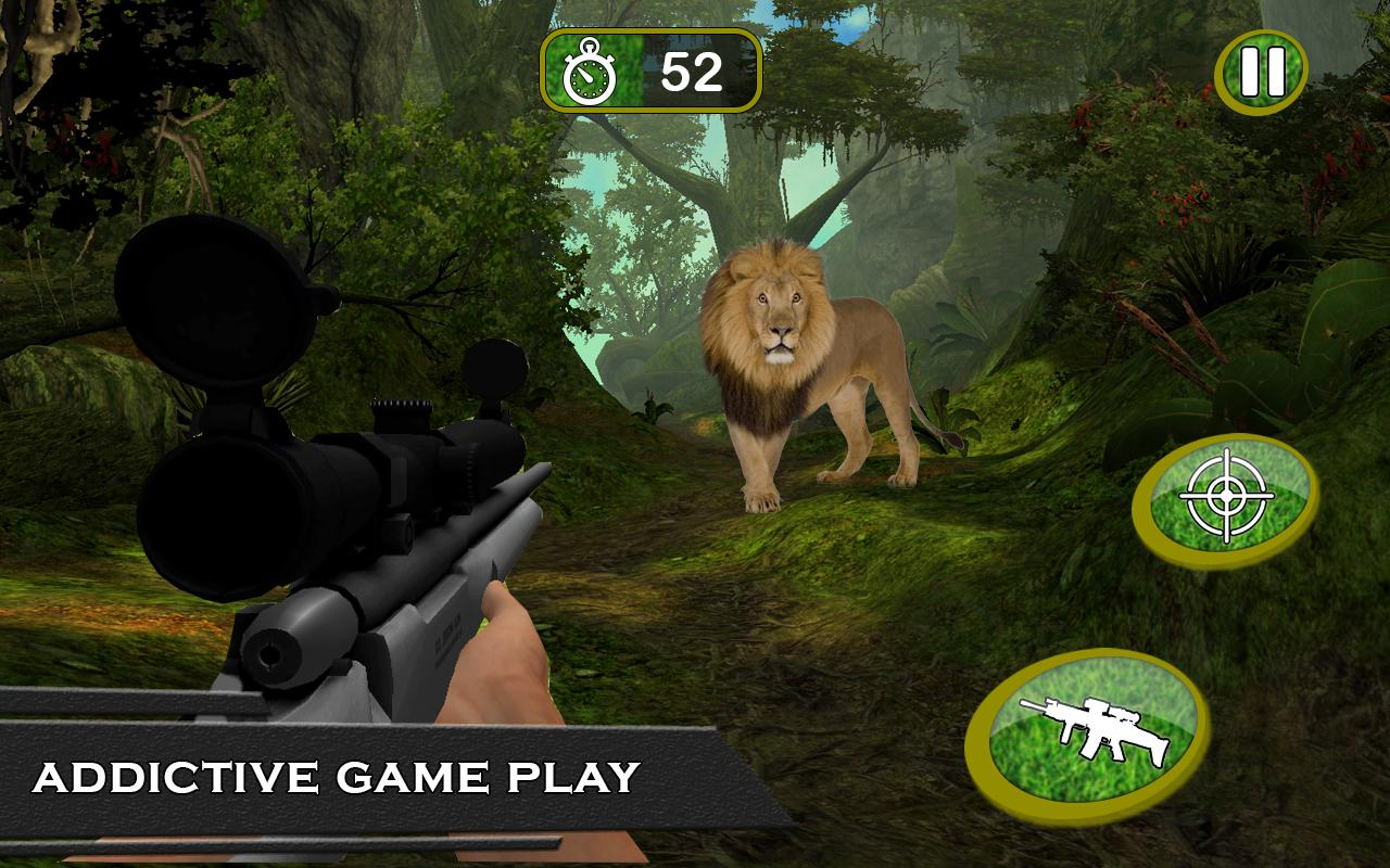 Sniper Wilder Animal Hunting:Africa Forest Hunter- screenshot