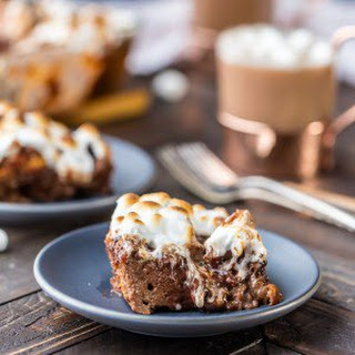 Hot Chocolate Bread Pudding.