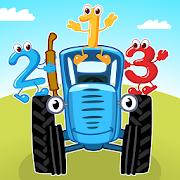 Blue Tractor: Preschool Educational Games!
