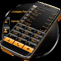 Dialer theme G Black Orange icon