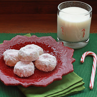 Peppermint Candy Cookies.
