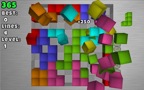 TetroCrate 3D: Brick Game- screenshot thumbnail