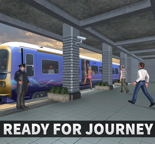 Real Train Driving Simulator: Railway Driver 2019  screenshots 16