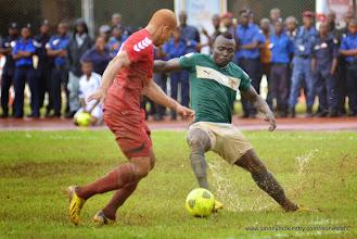 Photo: Alhassan 'Crespo' Kamara [Leone Stars Vs. Equatorial Guinea, 7 Sept 2013 (Pic: Darren McKinstry)]