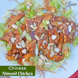 Chinese Almond Chicken.