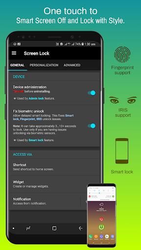 Screen Lock - On Off Button v4.6.6f screenshots 1