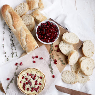 Pomegranate & Thyme Baked Camembert.