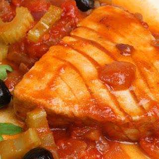 Bifes De Atum Com Tomate Recipe
