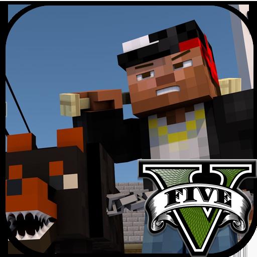 Mod & Skin GTA V for Minecraft 書籍 App LOGO-硬是要APP