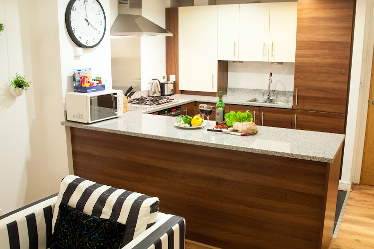 Fully equipped kitchen at Steward Street, Bishopsgate