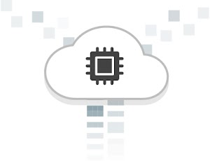 GPUs in the cloud logo