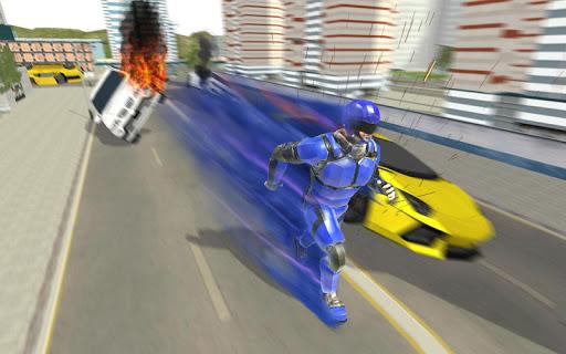 Super Light Speed Robot Superhero: Speed Hero 1.3 screenshots 1