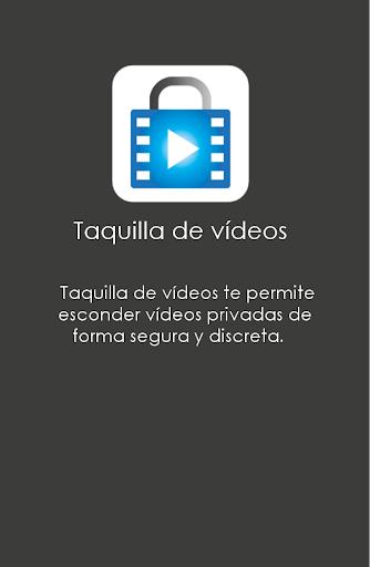 Taquilla de vídeos screenshot 1