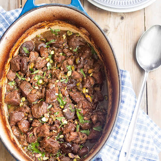 Apricot Pistachio Lamb Stew – Another Sneak Recipe from Paleo Home Cooking.