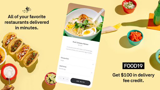 PC u7528 Postmates - Local Restaurant Delivery & Takeout 1