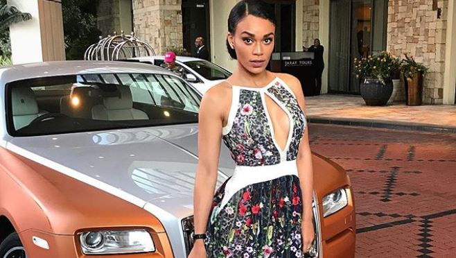 Pearl Thusi survived an attempted robbery on Thursday evening.