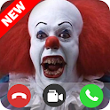 Video call from bad clown pennywise - creepy vid ! icon