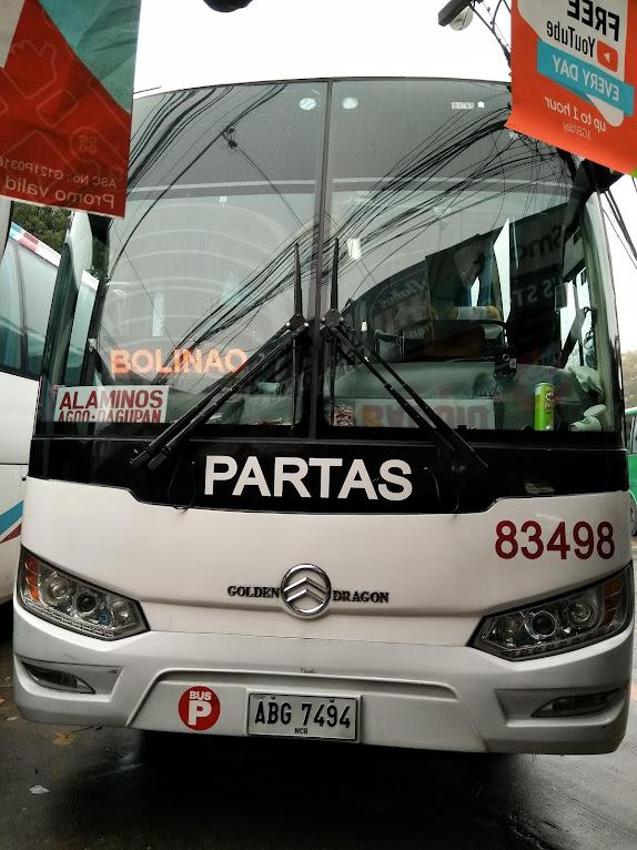 ボリナオ行きのバス